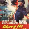 above us the waves Uk Liftbill poster