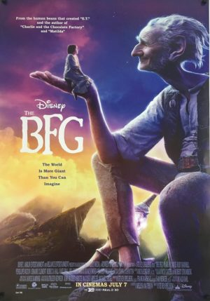 the bfg one sheet poster