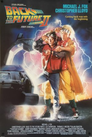 back to the future II 2 us one sheet poster rolled