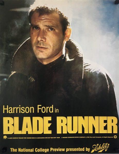 blade runner college preview advance original poster