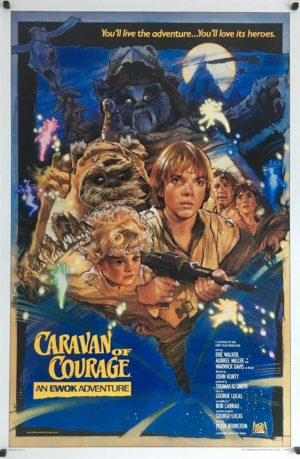caravan of courage us one sheet poster