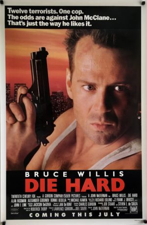 die hard us one sheet original poster