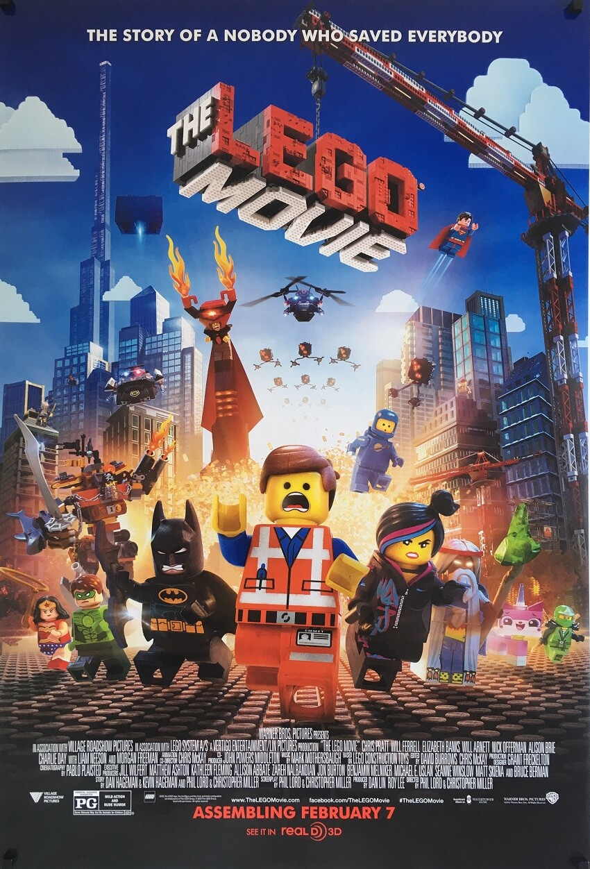 the lego movie one sheet poster