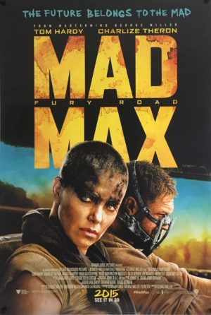mad max fury road one sheet poster