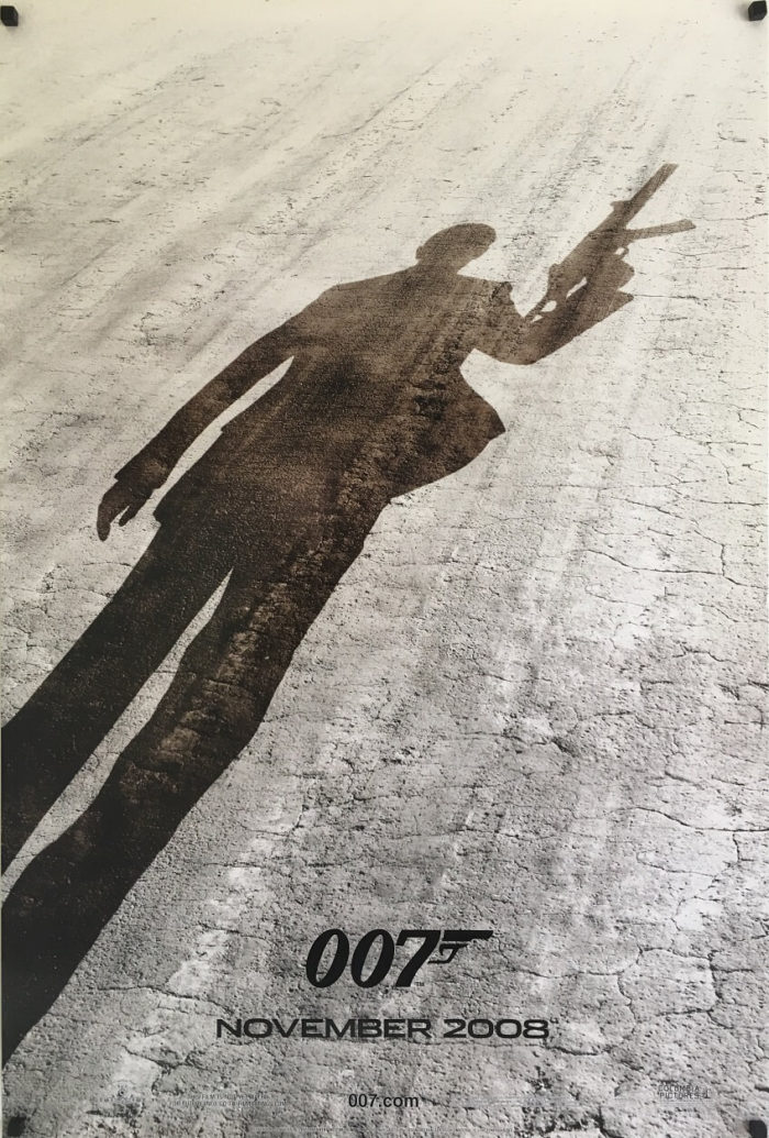 quantum of solace one sheet move poster