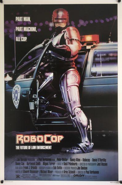 robocop us one sheet poster