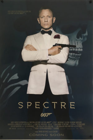 james bond spectre white jacket us one sheet poster