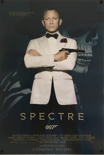 james bond spectre white jacket us one sheet poster