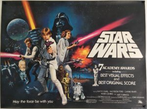 Star wars UK quad poster post oscars