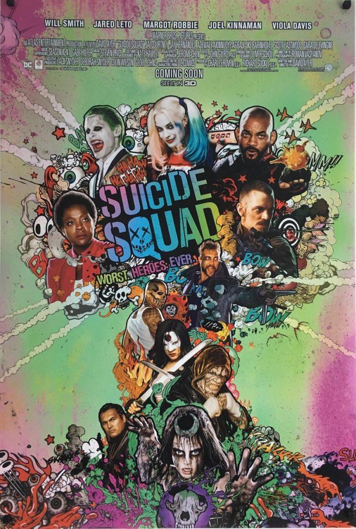 suicide squad original one sheet poster