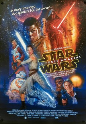 the force awakens special screening poster