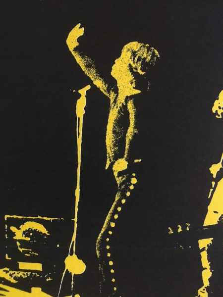 the rolling stones gimme shelter US one sheet poster linen backed