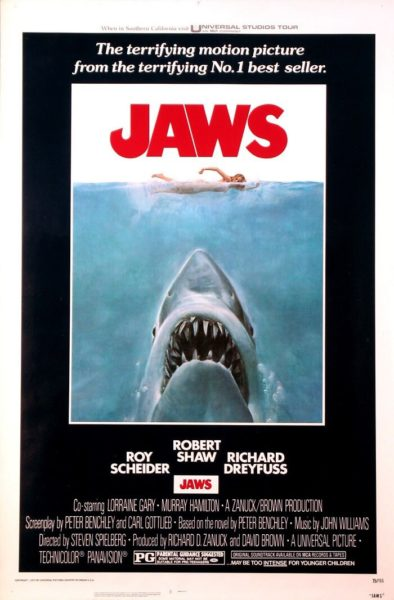 Jaws Original Rolled One Sheet