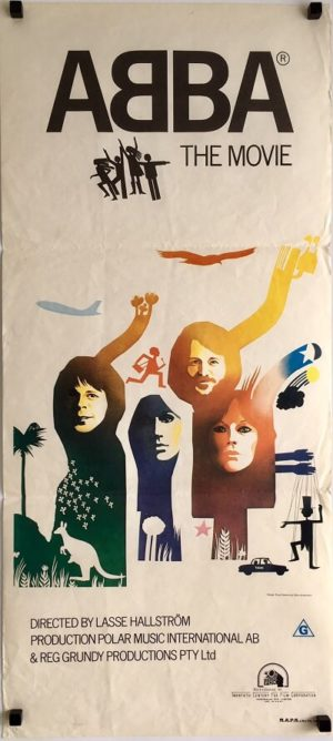 ABBA the movie australian daybill poster