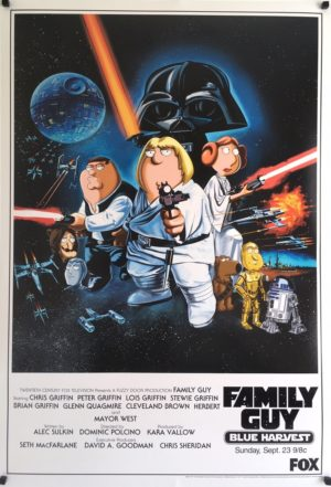 family guy blue harvest original poster