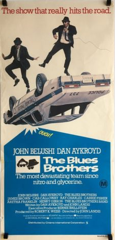 the blue brothers daybill poster