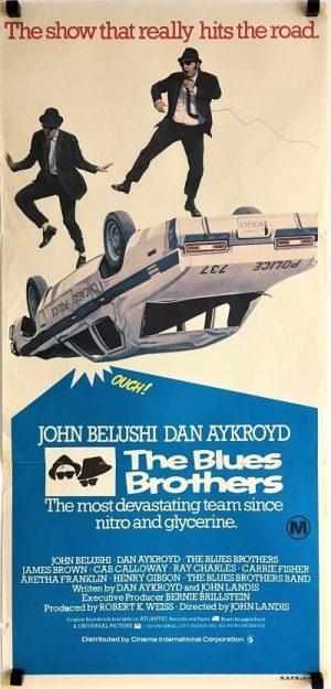 Blues Brothers australian daybill poster