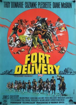 fort delivery distant trumpet poster