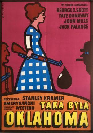 oklahoma crude Polish poster