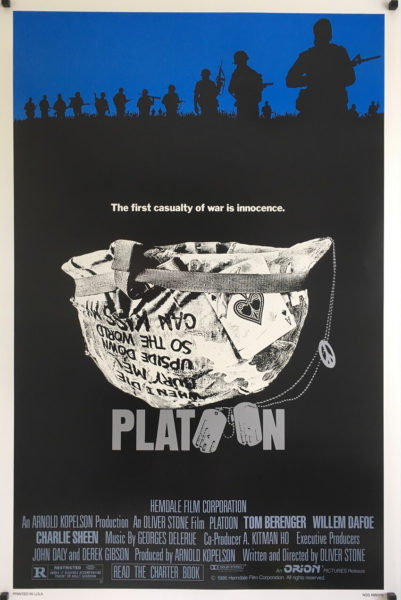 Platoon US One Sheet Poster