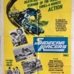 sidecar racers one sheet poster