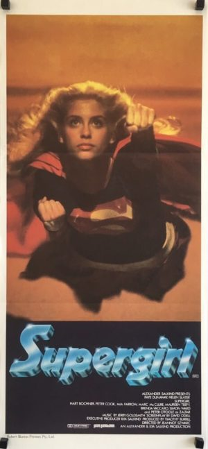 supergirl daybill poster