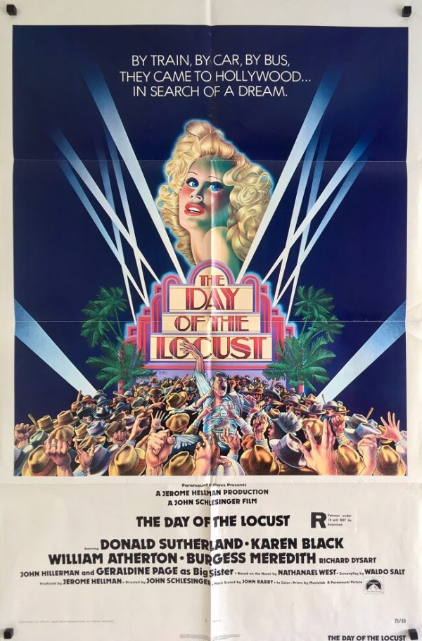 the day of the locust one sheet poster