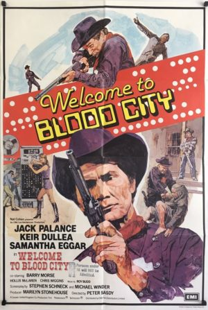 welcome to blood city poster