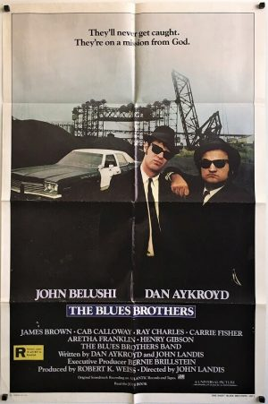 blues brothers us one sheet movie poster john belushi and dan aykroyd (1)