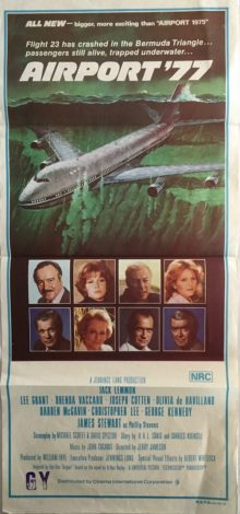 Airport 77 Daybill Poster