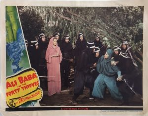 Ali Baba and the Forty Thieves Lobby Card