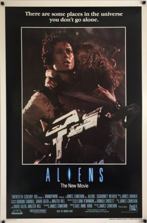 Aliens Original International English One Sheet Poster