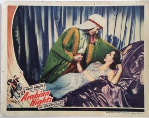 Arabian Nights Lobby Card