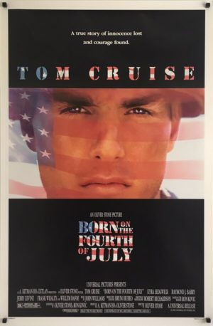 Born On The Forth Of July Original One Sheet Poster