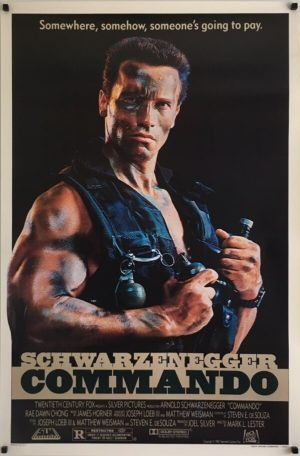 Commando Original One Sheet Poster