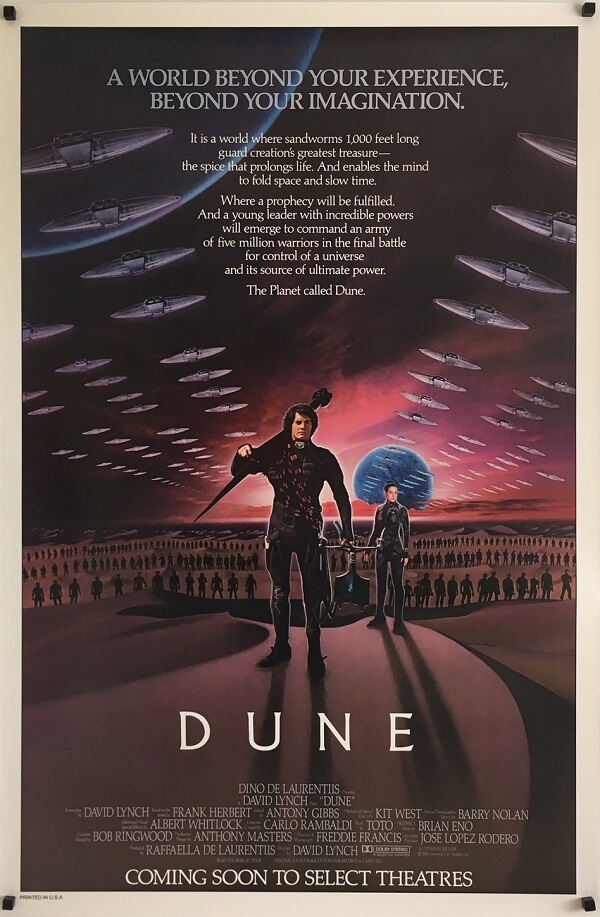 Dune Original Advance One Sheet Poster