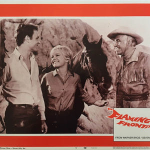 Flaming Frontier Lobby Cards