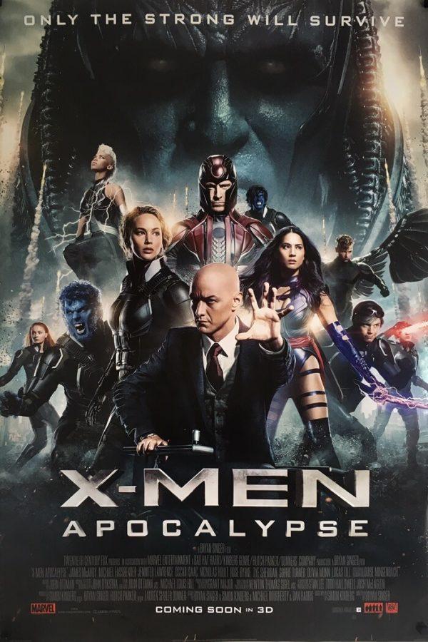 X-Men Apocalypse Original One Sheet Poster