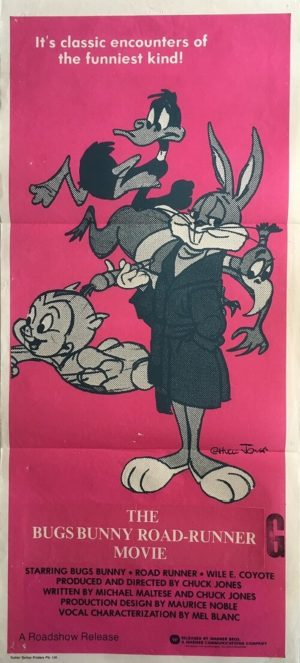 The Bugs Bunny Road-Runner Movie Daybill