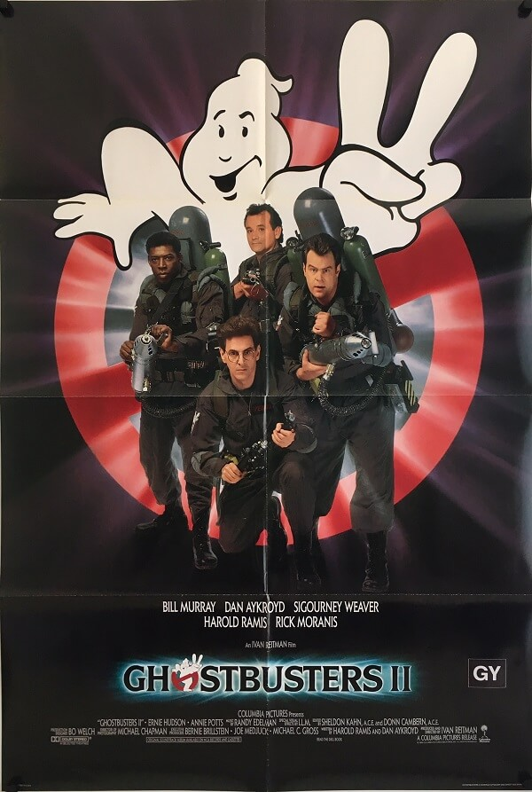Ghostbusters 2 Original US One Sheet Poster