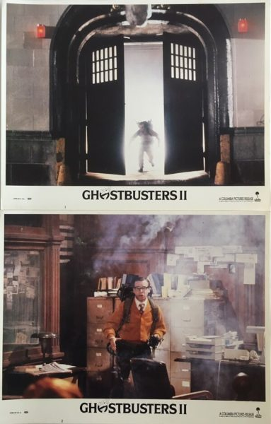 Ghostbusters 2 Lobby Cards