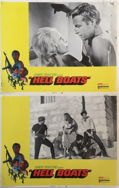 Hell Boats 11x14 Lobby Cards