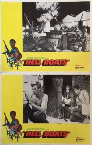 Hell Boats 11x14 Lobby Cards