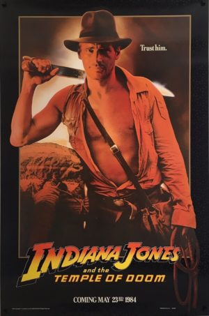Indiana Jones and the Temple Of Doom Poster (1)