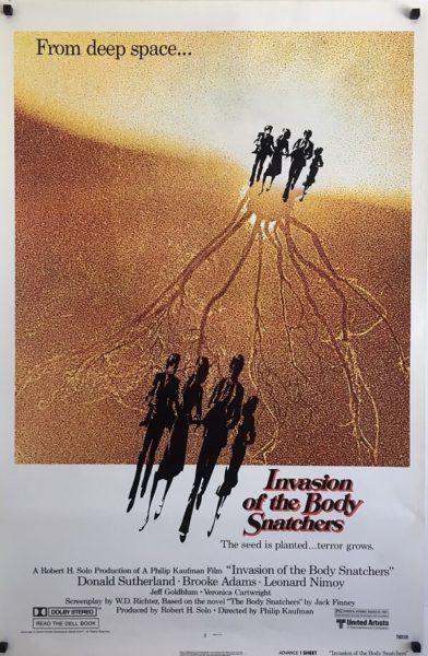 Invasion Of The Body Snatchers Poster (1)