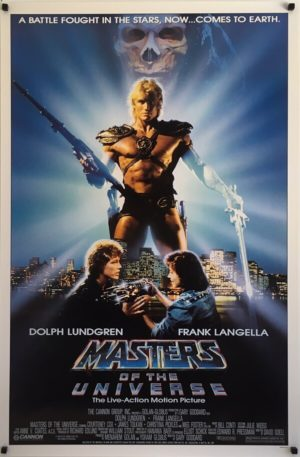 Masters Of The Universe - He-Man Original US One Sheet