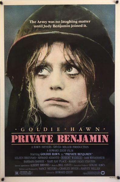 Private Benjamin Poster (1)