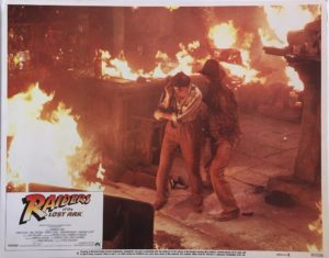 Raiders of the Lost Ark 11x14 Lobby Card