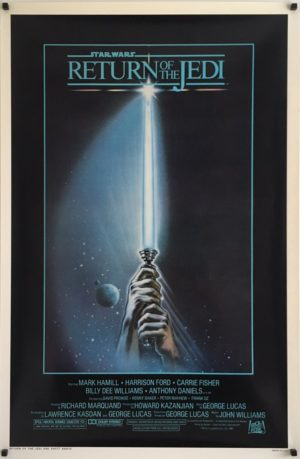 Return Of The Jedi Style A Original US One Sheet