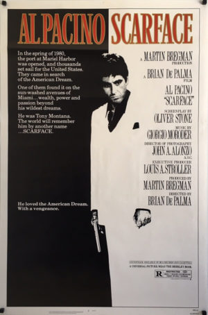 Scarface Poster (1) (1)